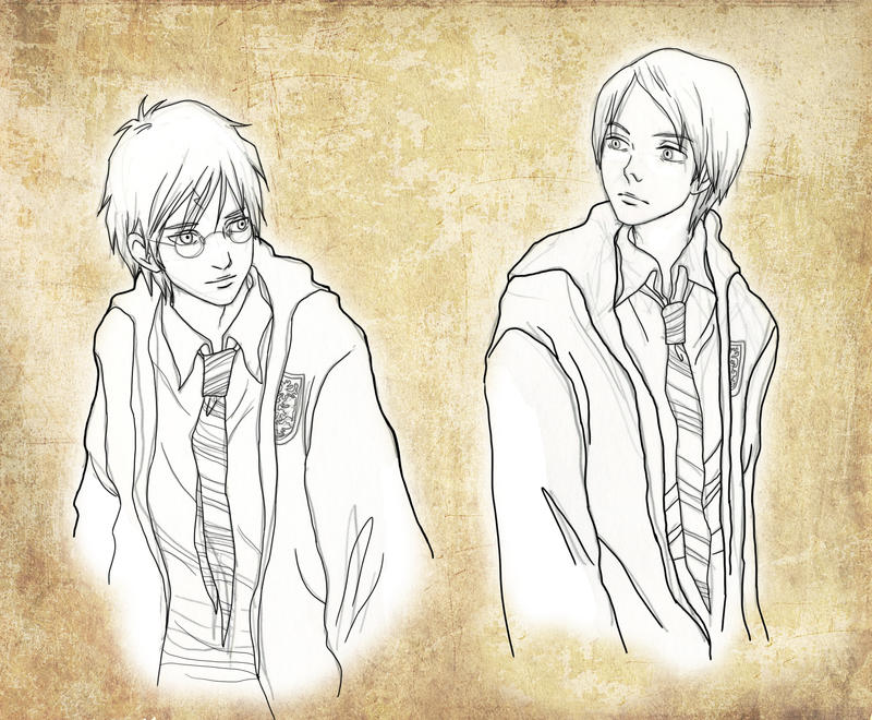 Harry x Draco by Maseiya