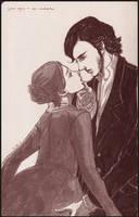 Jane Eyre + Mr. Rochester by Maseiya