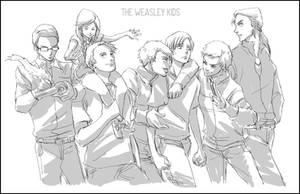 The Weasley Kids by Maseiya