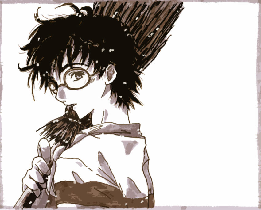 Original Harry Potter drawing by Maseiya