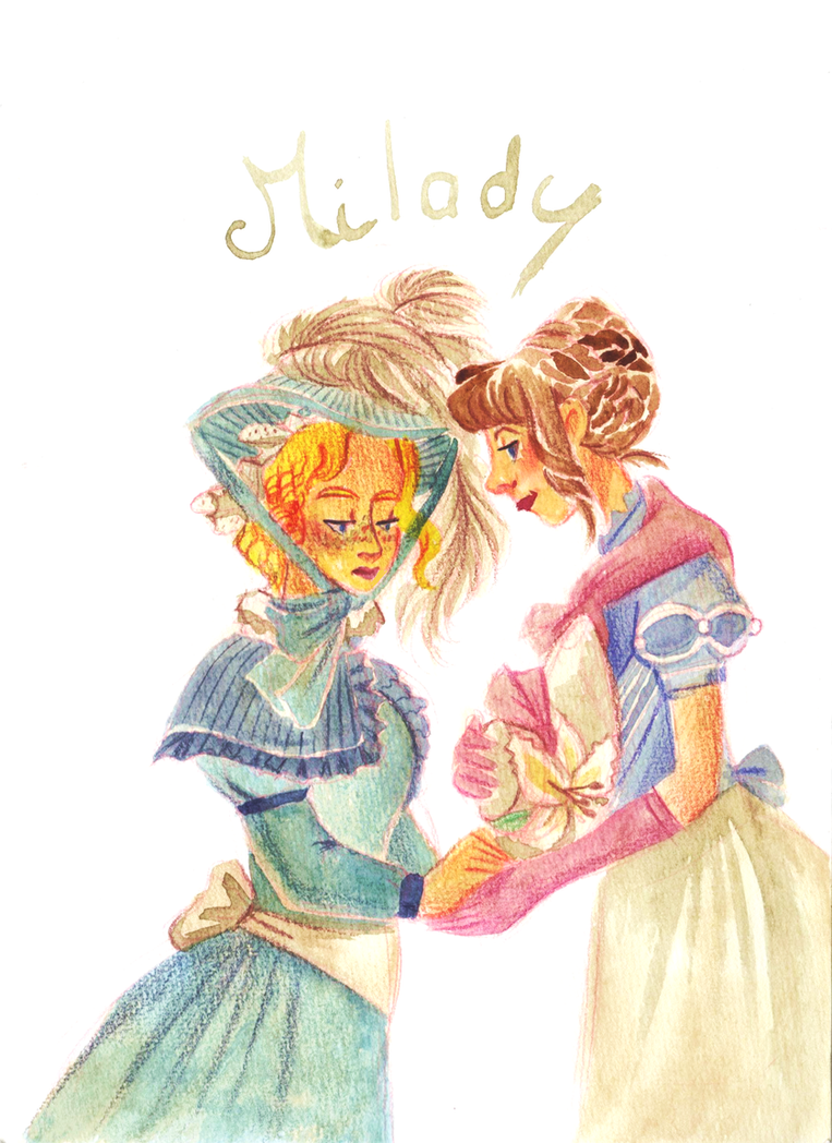 Milady by Jeananas