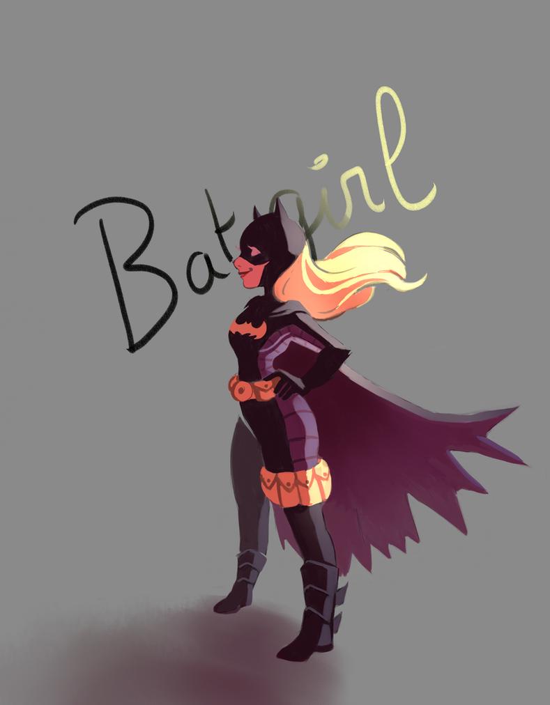 Batgirl by Jeananas