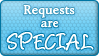 Requests Special Button by SparkleStuff