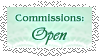 Lace Commission Open Button by pumpkin-spice-desu