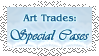 Lace Art Trades Special Button by pumpkin-spice-desu