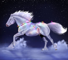 YHH - Christmas lights by Bleskobleska-Yandere