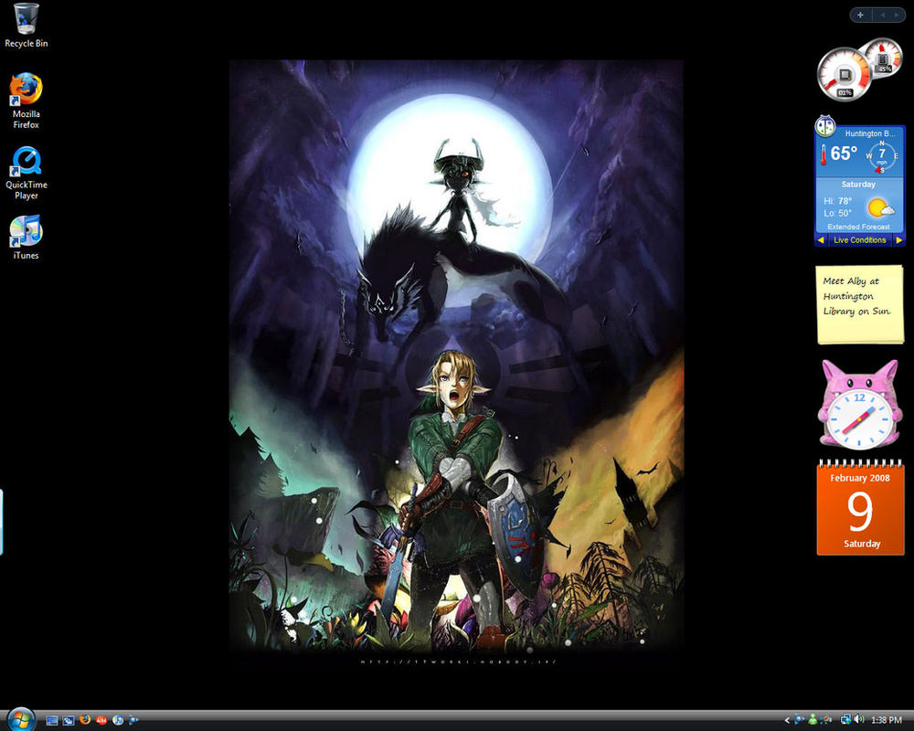Twilight Princess Desktop by Adella