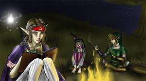 Zelda: Hyrule Field Camping
