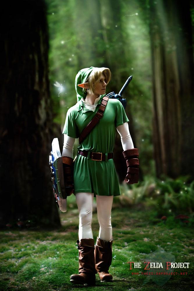 Un fanfilm sur Zelda en approche Tzp__the_lost_woods_by_adella-d2xsfa6