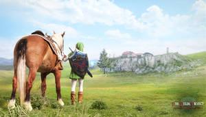TZP: Returning to Lon Lon Ranch by Adella