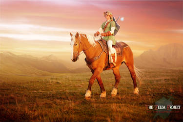 TZP: Link Rides Epona Into the Sunset