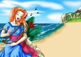 Siren of the Sea by Adella