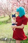 Cosplay: Baby Trunks and Bulma Cosplay