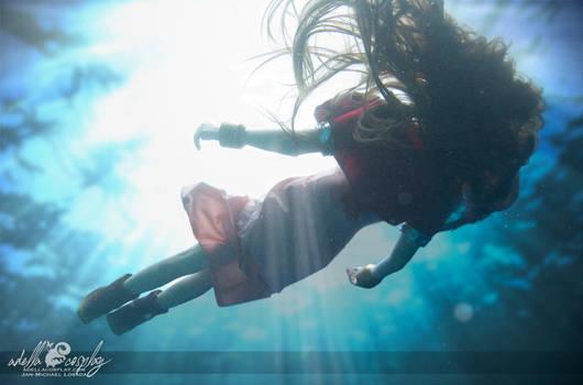 Aeris Underwater - Cosplay