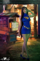 Cosplay: Wallmarket Tifa Lockheart by Adella