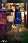 Cosplay: Wallmarket Tifa Lockheart