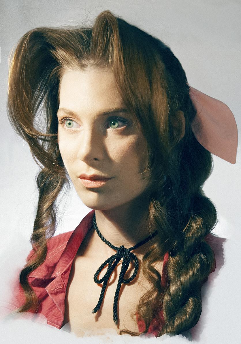 Aerith Gainsborough Cosplay Portrait