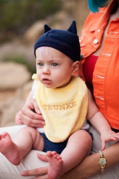 Baby Trunks Cosplay