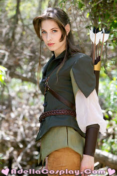 Elistriell Watersong - Costume