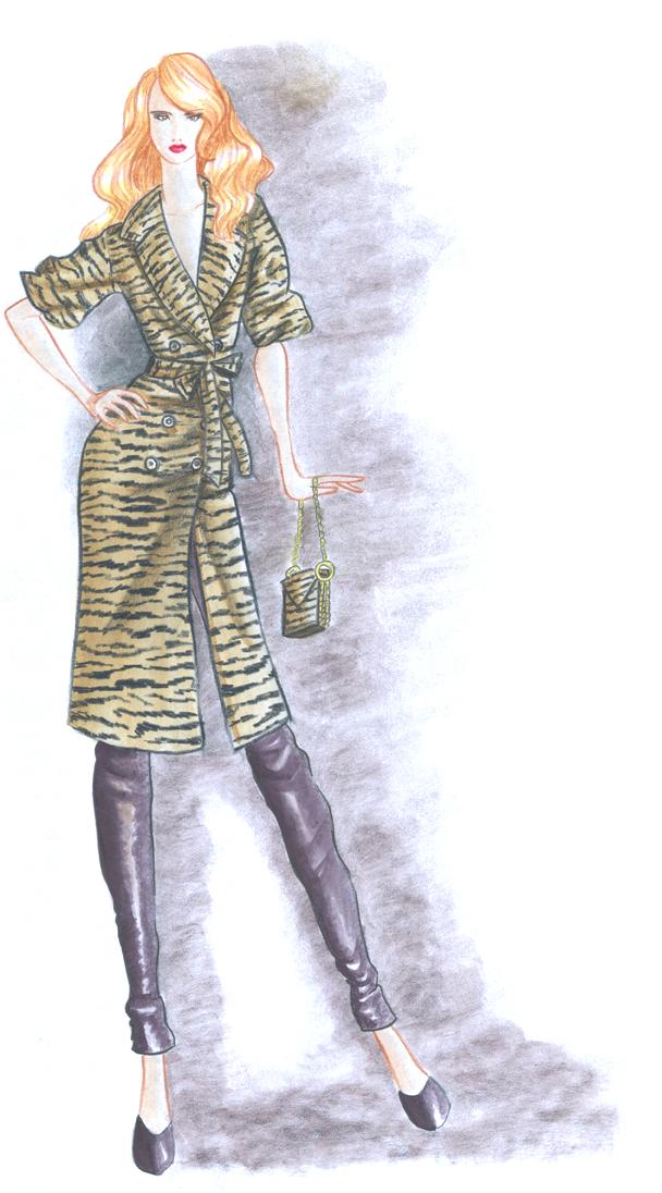 Fashion Design Final Sketch 1