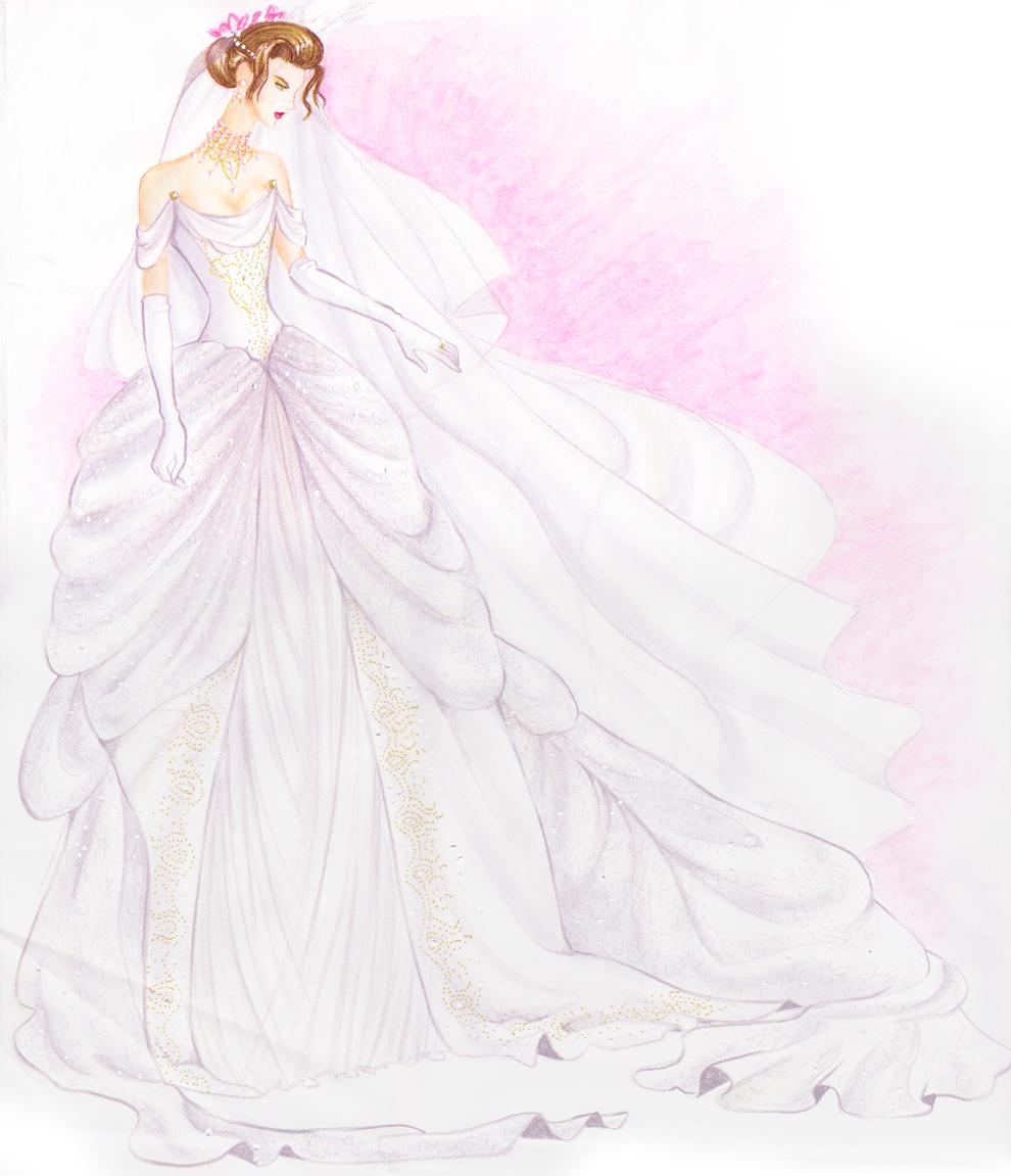Wedding Dress Design By Adella On DeviantArt