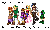 Legends of Hyrule Sprites by Adella