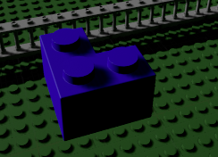 Blue lego model in unreal engine by RukarioTrainer