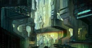sci fi city (inside)