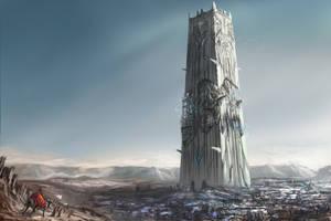 Desert Tower by chanmeleon