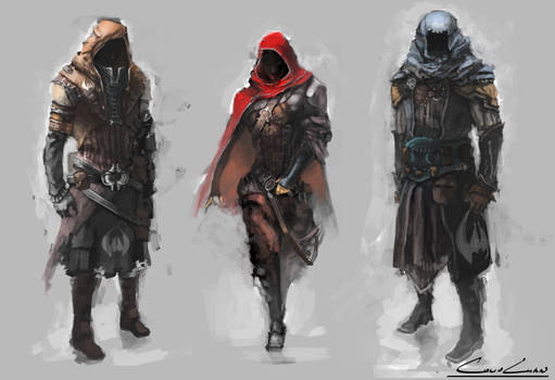 Rogue Character Concept