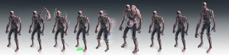 Mutation designs
