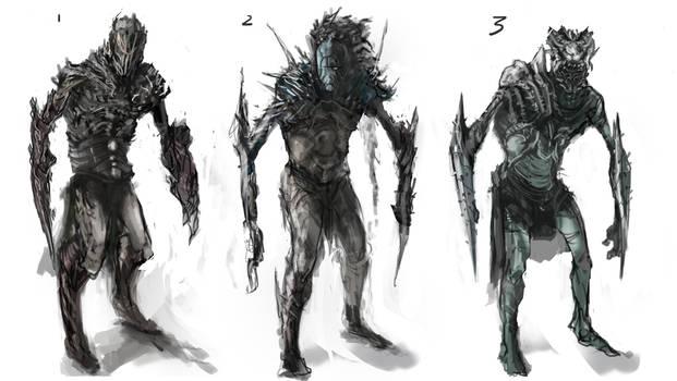 Elf Character sketch-Horgol