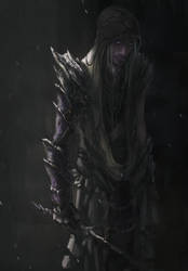 Elf Character- Black Song Male