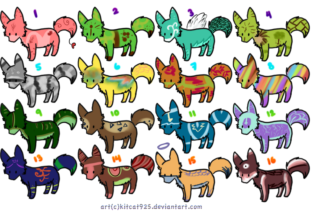 Adoptables-Canine | Offer to Adopt| OPEN by strawdopts