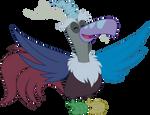 [MLP Vector] Discord Is As Free As A Bird