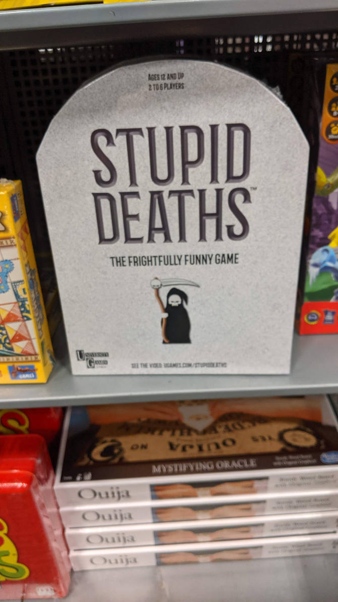 Stupid Death Game
