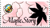 MapleJapan - Sakura Stamp by ace-goldstar