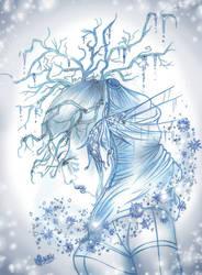 IceQueen by Songes-et-crayons