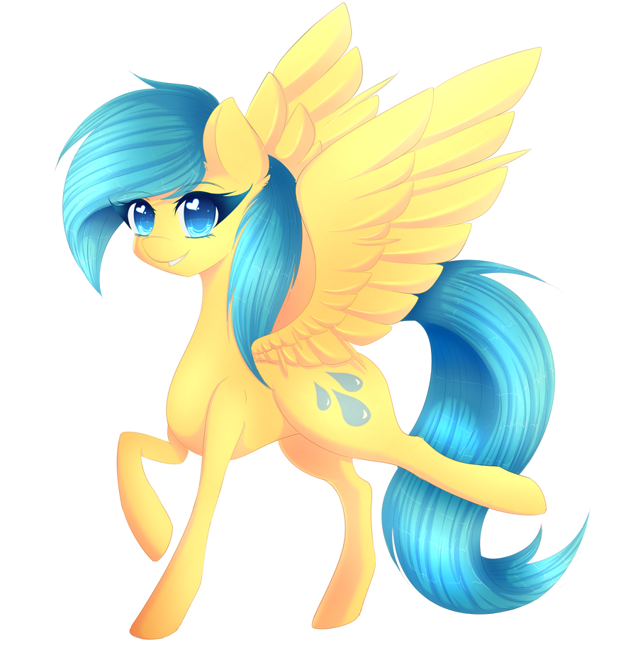 Sunshower Raindrops ~Best Background Pony~ by FluffyMaiden on DeviantArt # Sunshower Love_194845