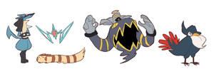 pokemon doodles