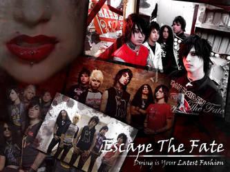 Escape The Fate Wallpaper by raize