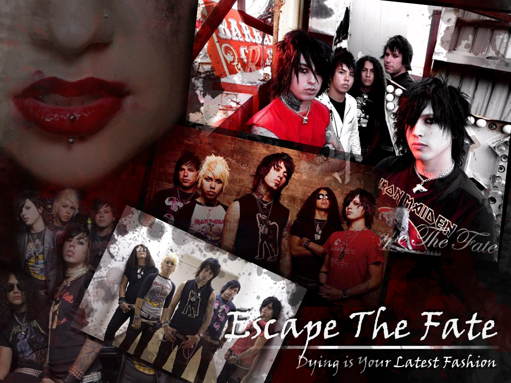 Escape The Fate Wallpaper by raize on DeviantArt
