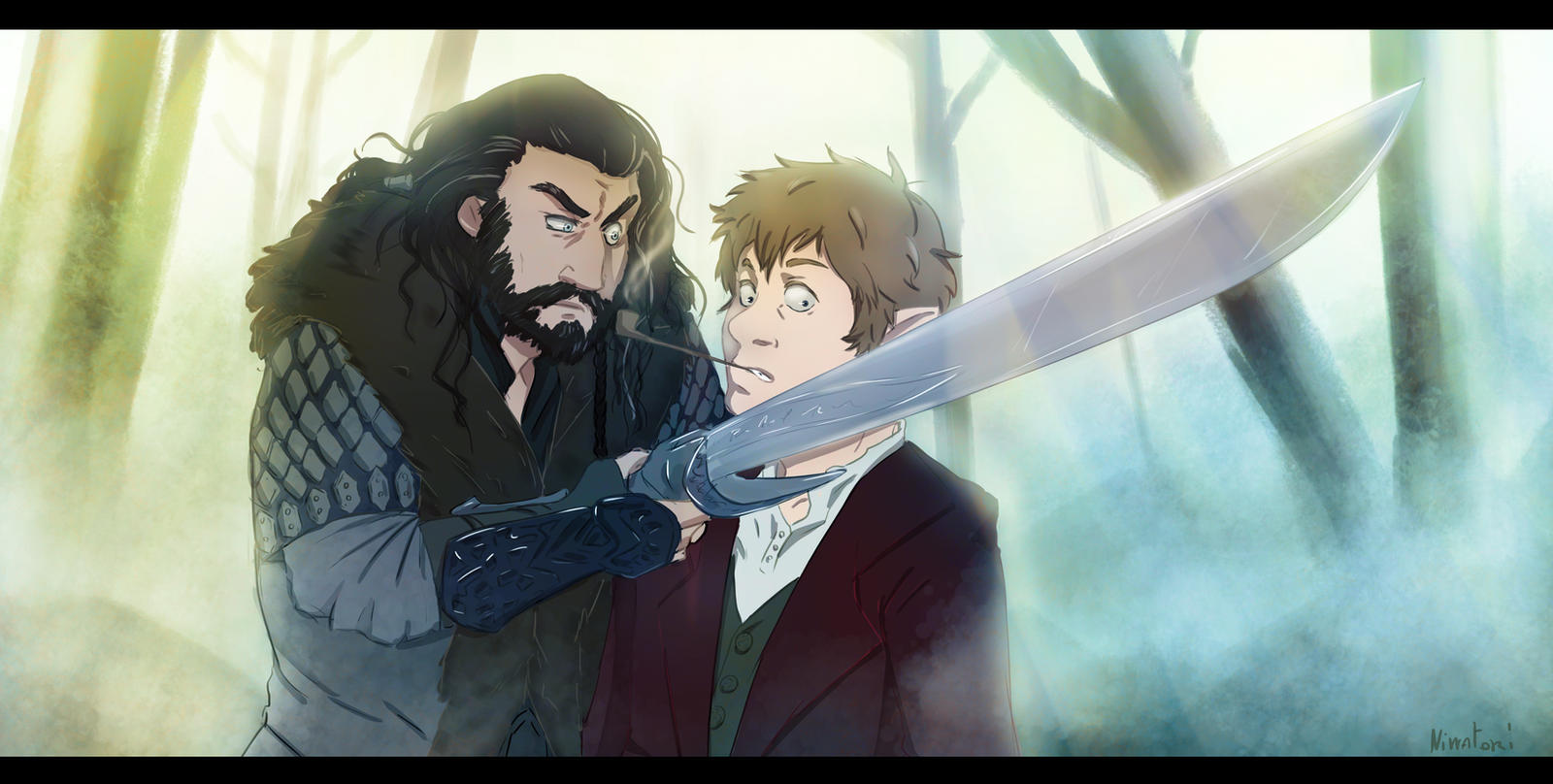 Bilbo And Thorin by onigiripretty