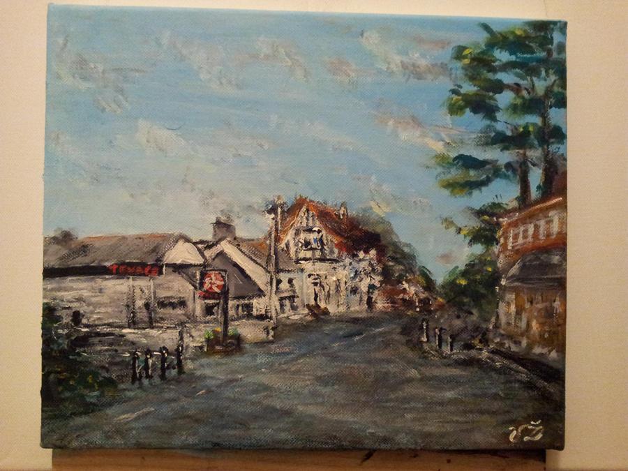 Foxrock village by VaidasZilys