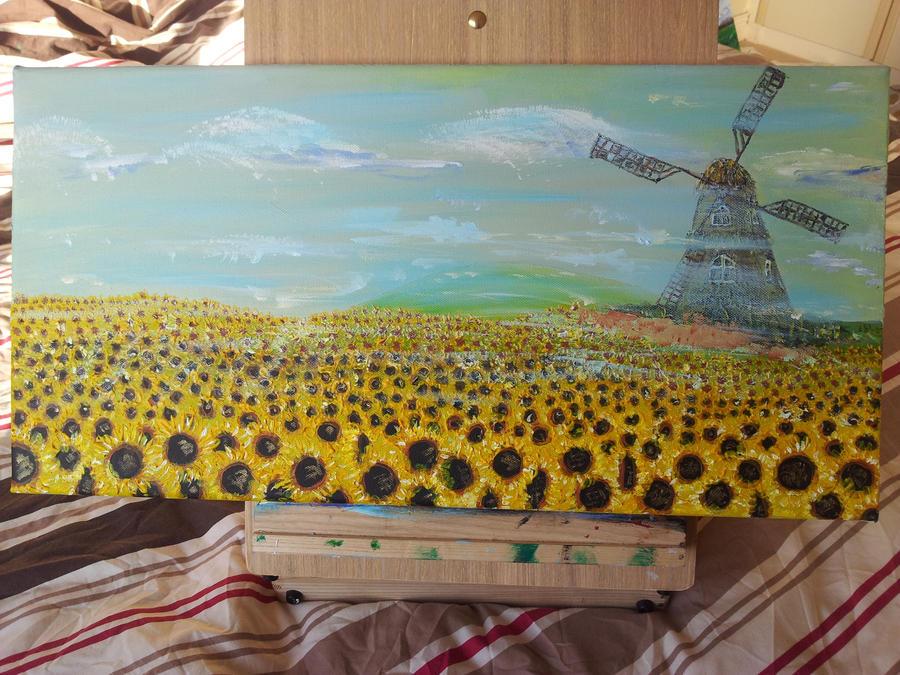 Sunflowers by VaidasZilys