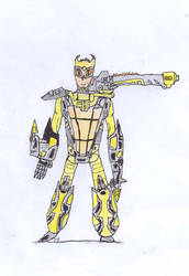 TF Humans: Scrapmetal by Tentomon4