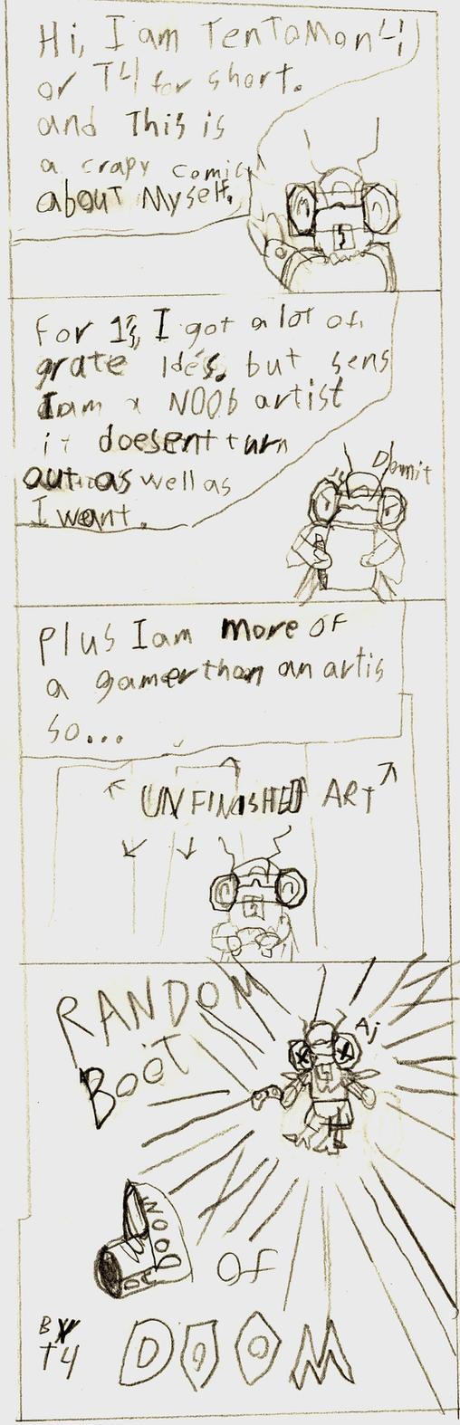Crapy Comic by Tentomon4