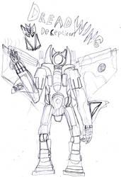 DreadWing sketch by Tentomon4