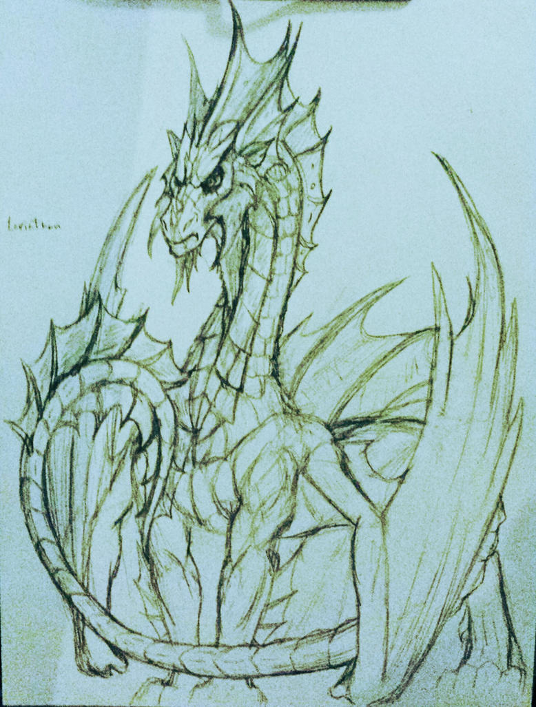 Leviathan sketch by anubis-x