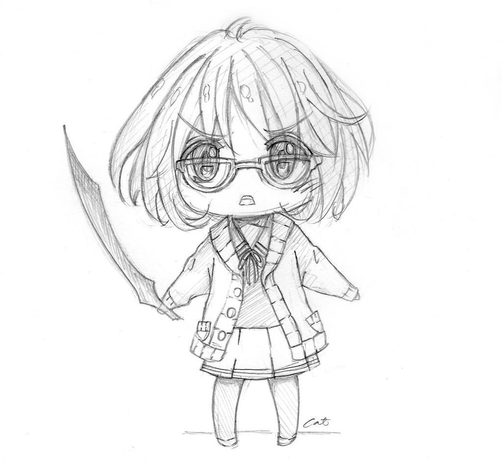 Chibi: Mirai Kuriyama by animatic01